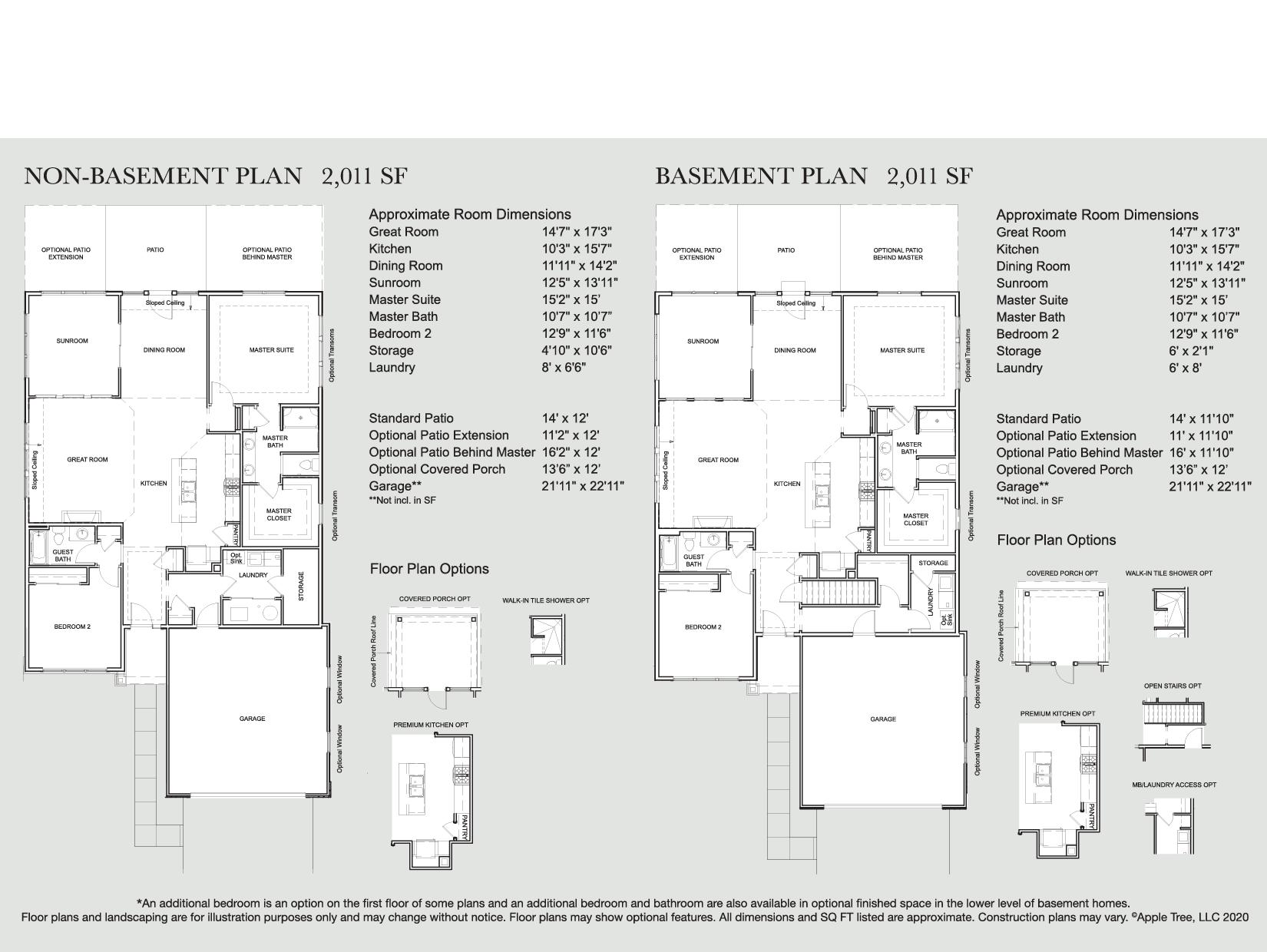 Dayton Plus Floorplan
