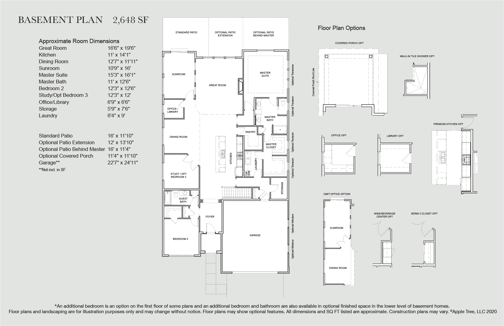 Weston Floorplan